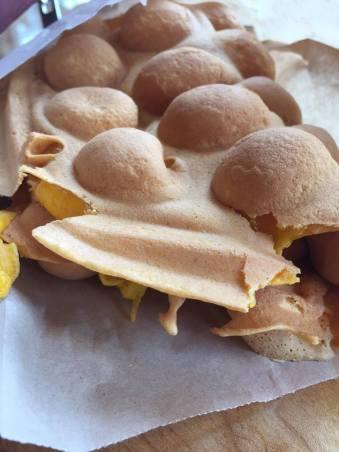 Mango Mocho Bubble Waffle