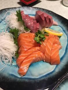 Atlantic Salmon and Hamachi Sashimi