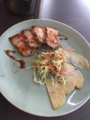 Pork Belly and Radish