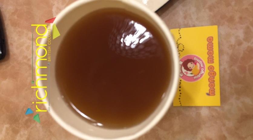 Peach Green Tea Hot Drink