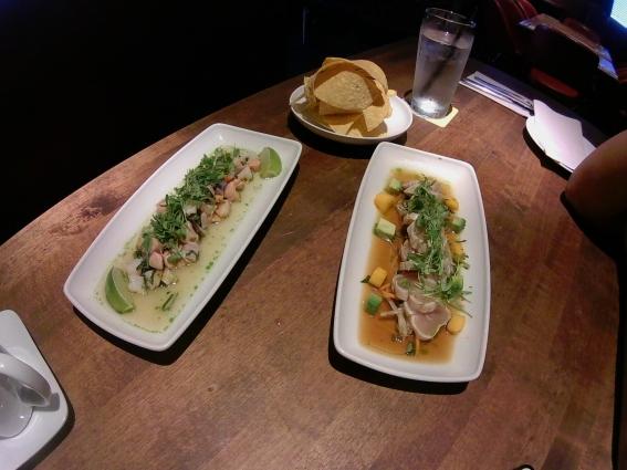 Ceviche & Tuna Tataki