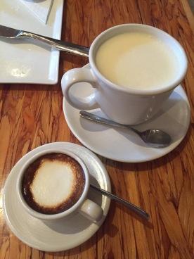 Macchiato + white hot chocolate rosewater blahl blah