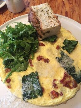 L'omellette du jour - Seasonal selection of ingredients