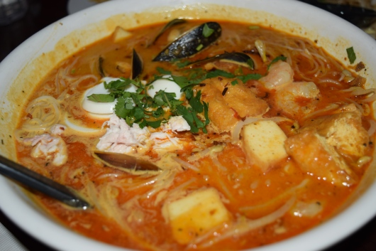 Asssam Seafood Laksa