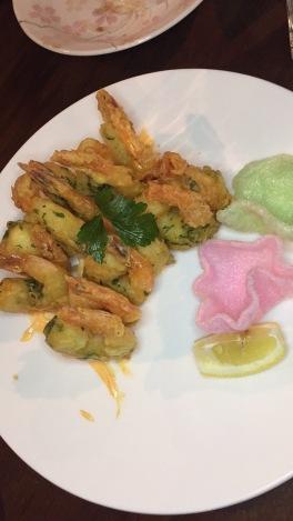 Jumbo Shrimp with Spicy Mayo