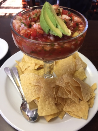 Ceviché in clamato