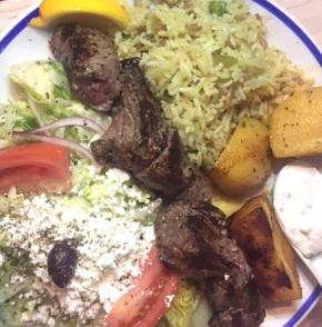 Lamb Platter