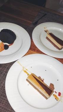 Earl Grey Chocolate Mousse + Cookies+Cream
