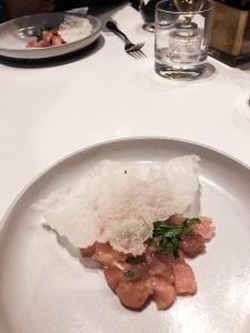Vietnamese Tuna Tartare Bar